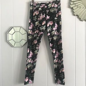 Adidas Orchid Light Purple Yoga Pants/Leggings S